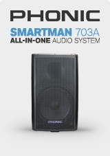 Phonic Smartman 703A 1100w All-in-one Audio System
