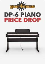 DP-6 Digipiano Gear4music